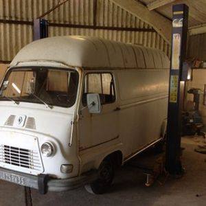 Renault Estafette Taco Truck Before