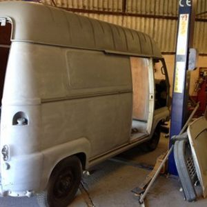 Renault Estafette Taco Truck X1 Primer Coat Finished