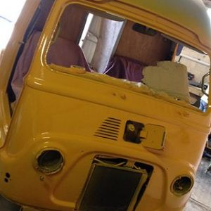 Renault Estafette Taco Truck X3 Orange Front