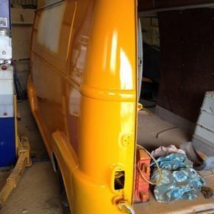 Renault Estafette Taco Truck X4 Orange Side