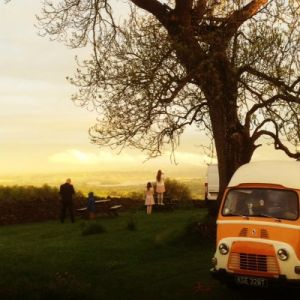 Wedding Sunset in Dundry
