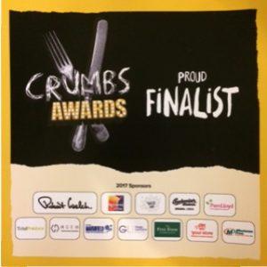 Crumbs awards Finalist Food Trader